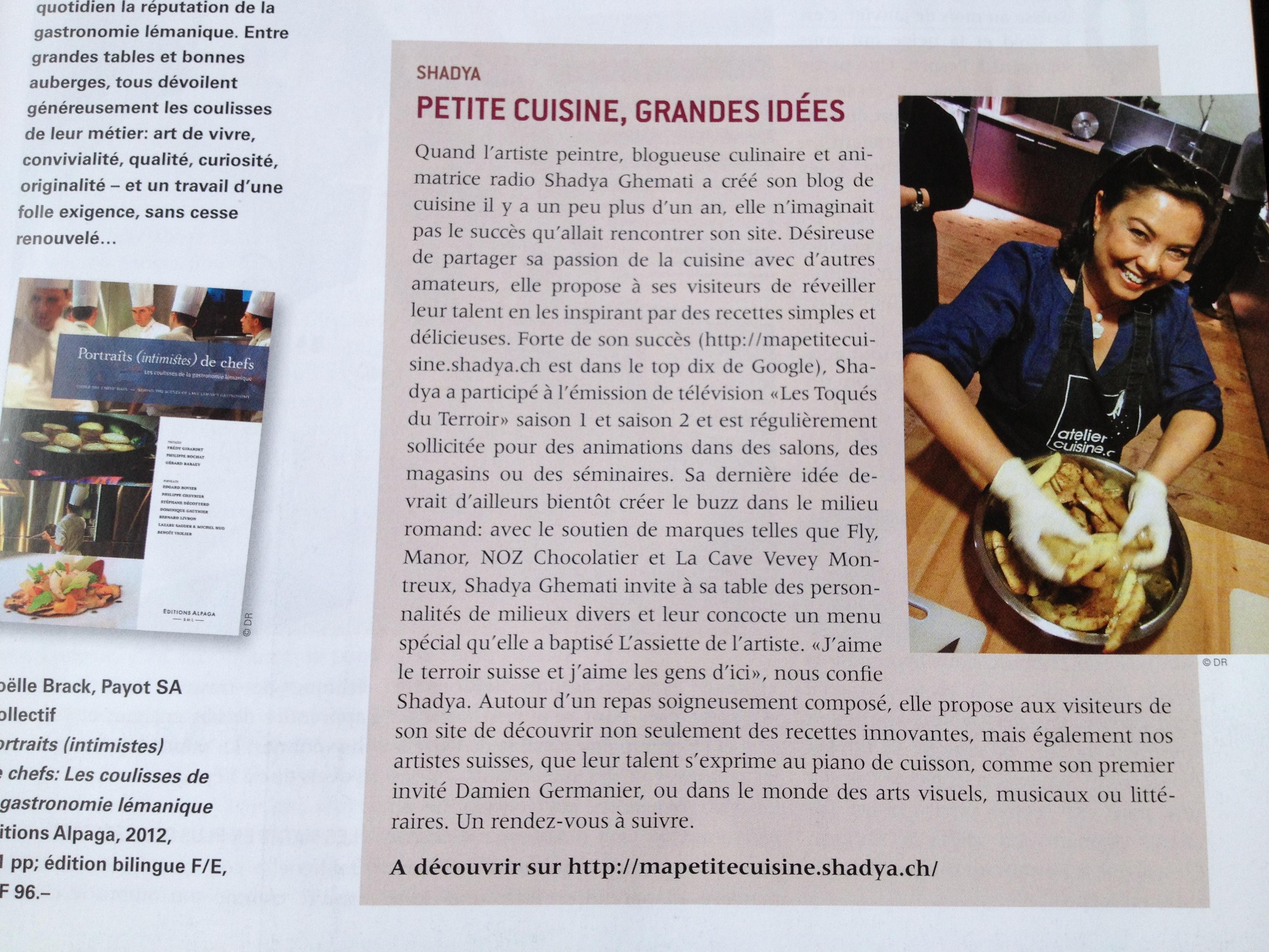 Propos de shadya ma petite cuisine - Ma petite cuisine by audrey ...