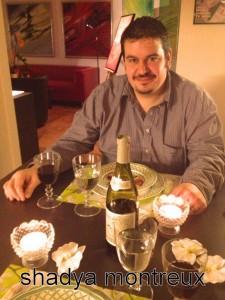 Chef Damien Germanier dans ma petite cuisine...