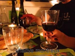 L'amitié le vin la cuisine