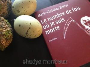 Le dernier livre de Marie Christine