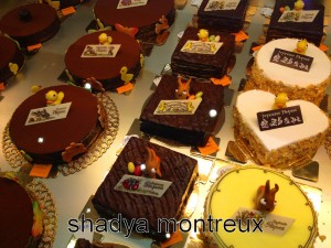 Mon gâteau choisi chez NOZ Chocolatier