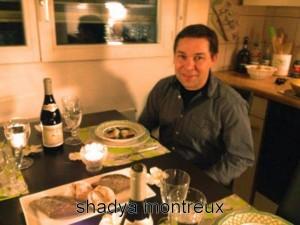 Nicolas Noz dans ma petite cuisine...