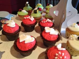 Les magnifiques cupcakes