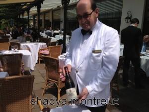 Manuel Neves Chef de rang du Victoria