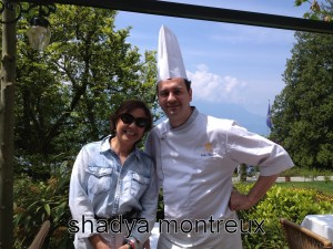 Shadya avec Gilles Vincent