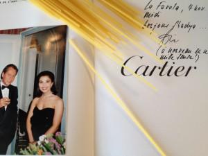 Luxe, Pasta et souvenirs