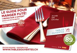 Le Guide Tables Ouvertes 2014
