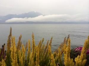A Montreux le grand large en Automne