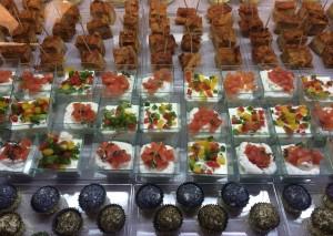 Déclinaisons de gourmandises de la Casa Mozzarella