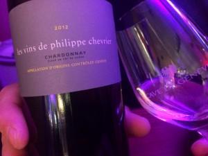 Le Chardonnay de Philippe Chevrier un des Musts de la soirée