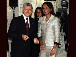 Massimo D'Alema Condoleezza Rice