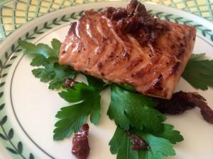 Mon saumon au Délice de Barolo à la truffe