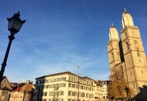 Première mondiale à Zurich sous un ciel bleu