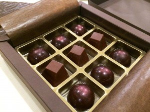 Des chocolats d'une délicatesse rare