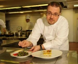 Le Chef étoilé Stéphane Decotterd du Pont-de-Brent
