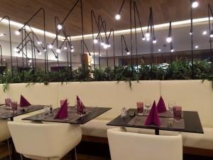 Le restaurant New Look des Bains de Lavey