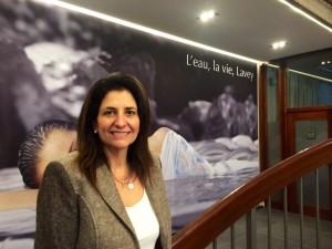 Silvana Tomasino Directrice Générale des Bains de Lavey
