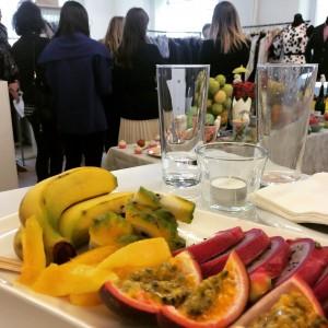 Apéro avec fruits exotiques