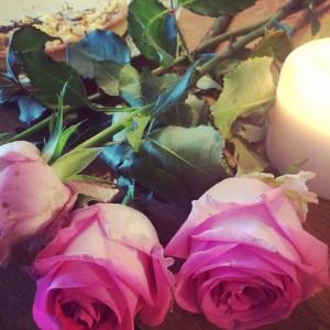 J'aime les roses partout