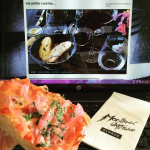 Blogueuse culinaire au boulot au MJF