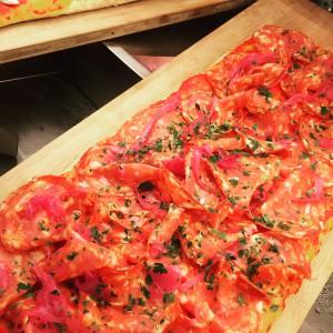 La fantastique pizza salame piccante de Nero's