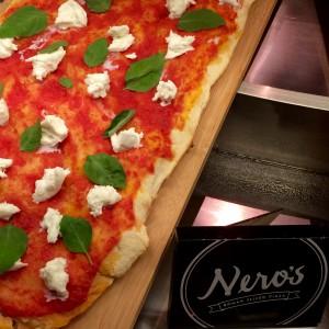 Les magnifiques pizzas de Nero's