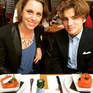Grace Rocofort de Vinnière et Arnaud Hubert