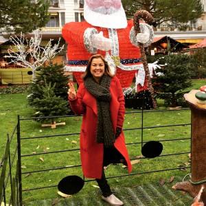 Shadya au Marché de Noël de Montreux