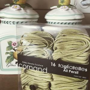 Les tagliatelle ail et persil de Cornand