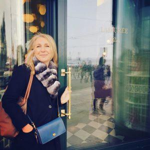 Lunch avec Valérie Ogier chez Ladurée