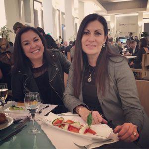 Lunch de filles avec Christina Giotto au SIHH