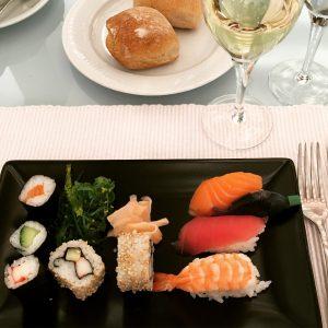 Sushi et Sancerre