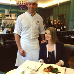 Chef Adam Benthala et Melina Neuhaus