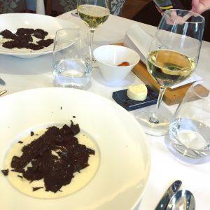 L'oeuf parfait à la truffe de la Brasserie du Royal Savoy