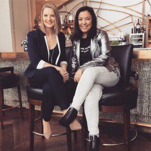 Melina Neuhaus et Shadya Ghemati au Royal Savoy