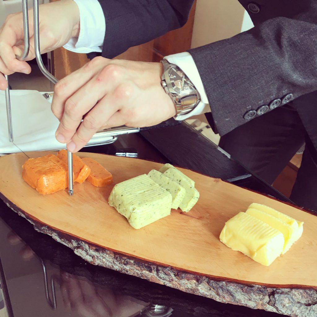 Beurre bordier au restauran bayview du chef michel roth for Ma cuisine petit chef